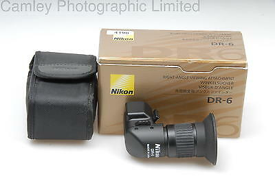 Nikon DR-6 Rectangular Right Angle Viewfinder . Condition – 2E [4190]