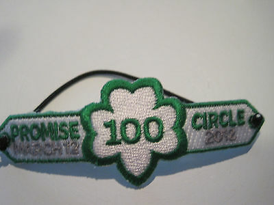 Girl Scout Bracelet 100th Anniversary Promise Circle Patchlet Multiples Gift NEW