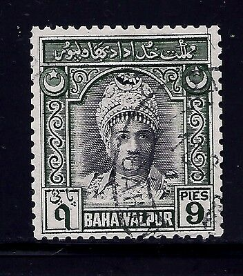 1948 Bahawalpur,sg21 Cat £20  Kgvi,pakistan,oman,not,india States,x