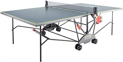 Kettler Axos 3 Outdoor Table Tennis Table + 2 Bats + 3 Balls + Cover