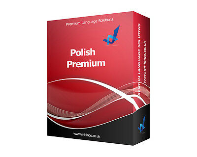 Learn To Speak POLISH PREMIUM Language Course PC CD-ROM New