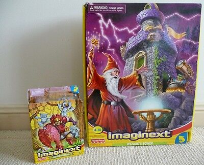Fisher Price Imaginext - 2 Sets - Wizards Tower + Igor The Goblin Master