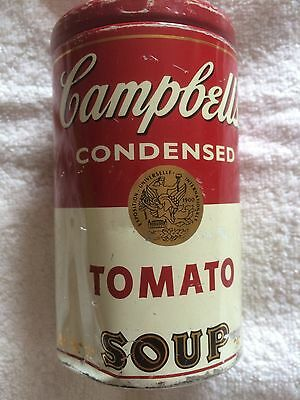 Campbells Condensed Tomato Soup Storage tin