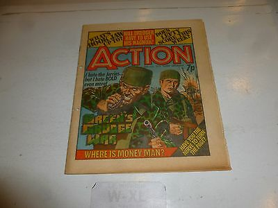 ACTION Comic - Date 10/07/1976 - UK Paper Comic