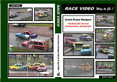 Race Video 3 Historic Banger team warfare meetings from 2001