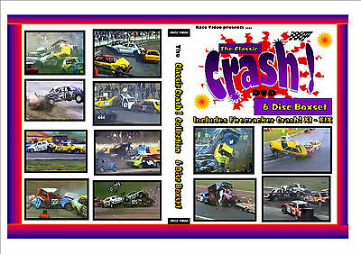 Race Video - Classic Crash ! 6 disc Boxset ( From years 1986 - 2000 )