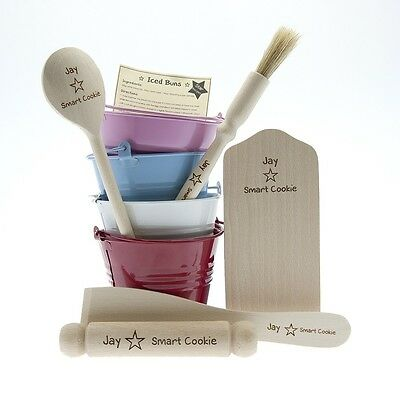 Childrens Personalised Baking Set Christmas Gift