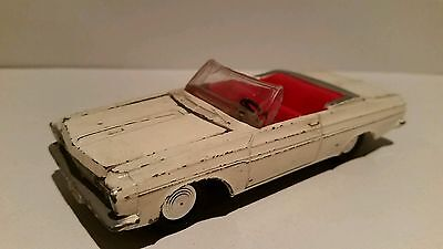 Vintage Dinky/meccano No 137 Plymouth Fury Sports Car In Played With Condition