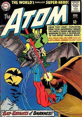 Atom #22 in Fine - condition. FREE bag/board