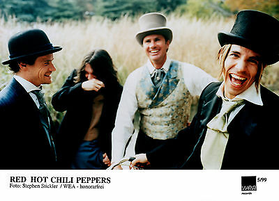 Red Hot Chili Peppers - Promo Press Photo 1999 - Californication - The Getway