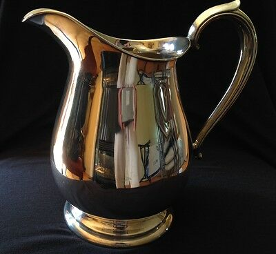 Fisher Sterling Silver Water Pitcher with markings 2026