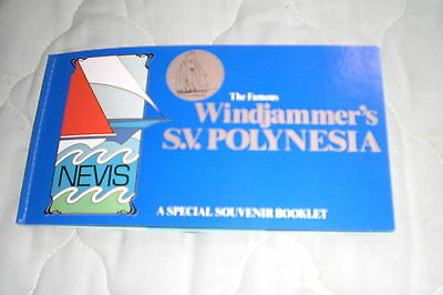 Nevis Stamps-The Famous Windjammmer's S.v. Polynesia A Special Booklet Of Stamps