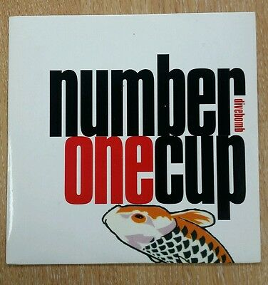 "Number One Cup - Divebomb 7"" single vinyl record"
