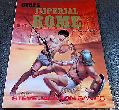 RPG GURPS Steve Jackson games Roleplaying Imperial Rome