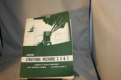 Aviation Structural Mechanic S 3 & 2, PBK, Withdrawn Library copy