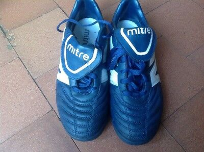 Mitre blue size 8 mens astro turf trainers