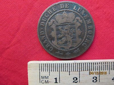 Luxemburg - Luxembourg 10 Centimes 1870 - I