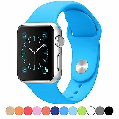 SKY BLUE Large Wristband Band Strap Accessories For iWatch 42MM APPLE WATCH