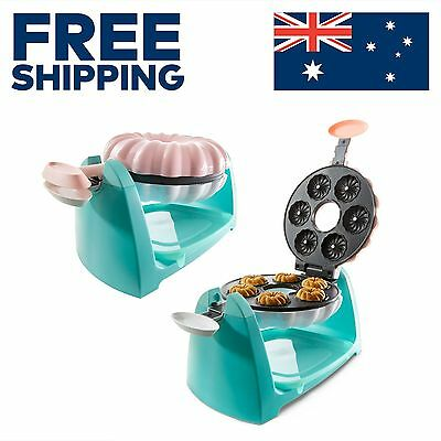 DONUT MAKER - 6 DONUTS. Oven, Machine, Automatic, Electric, Donuts, Fryer, Mini