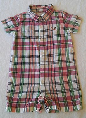 Nice Colorful Plaid Romper for REBORN or Baby Boy