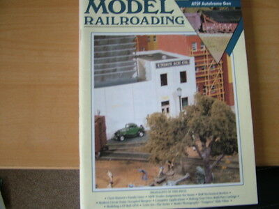4 Copies Of Model Railroading 1991