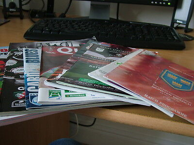 8 Various Rugby Programmes
