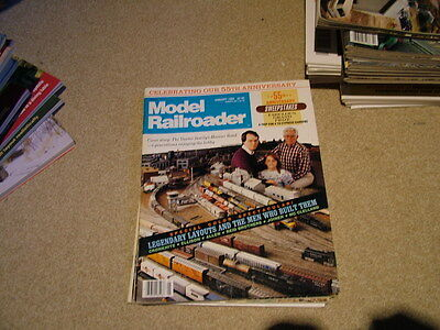 Model Railroader 4 Issues 1989
