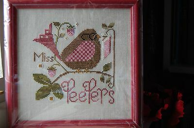 Completed Cross Stitch Picture - MISS PEEPERS