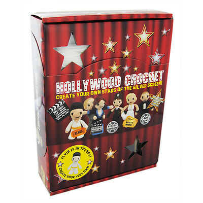 Hollywood Crochet - Create Your Own Stars of the Silver Screen Kit - BNIB