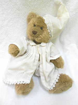 "16"" Vintage Harrods Bear in night clothes"