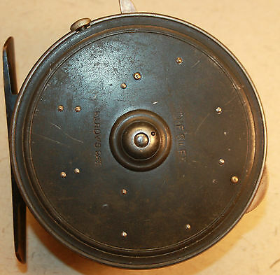 "Vintage Hardy 4"" Fishing reel the Silex By Dingley"
