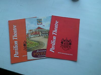 Three D'Oyly Carte Opera Co programmes, Bournemouth, 1953 and 1972