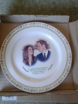 Royal Doulton - Prince William and Catherine Engagement Commemorative plate