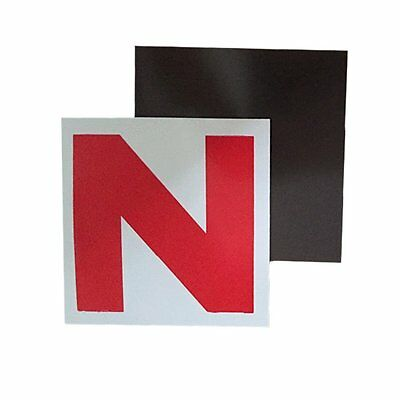 Quality Auto® Fully Magnetic N Plates for New Drivers 2 Pack
