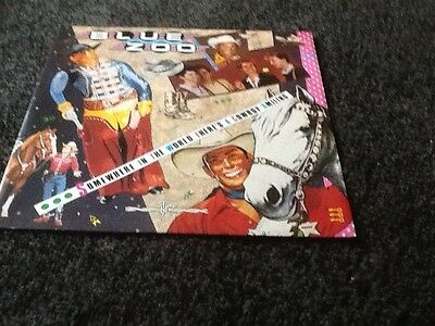 Blue Zoo Somewhere In The World  Theres A Cowboys Smiling 12 Inch Single