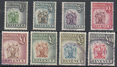 Southern Rhodesia Revenue's Very Fine Used & High Cat. Value