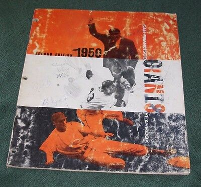 SF Giants 2nd Edition 1959 Yearbook