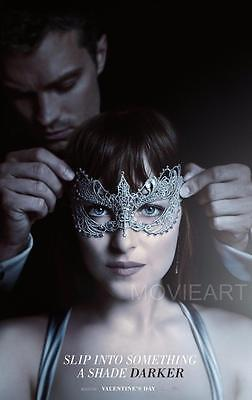 FIFTY SHADES OF GREY MOVIE POSTER FILM A4 A3 ART PRINT CINEMA