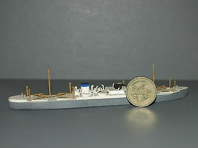 "Scratch Built Model Ship 1/1250 Wooden 5.5"" 14cm Long 1 of 17 collection"