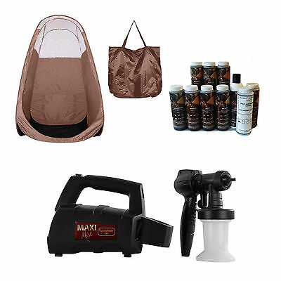 Maximist Spraymate Tnt Sunless Hvlp Unit W Free Tampa Bay Tan Spray And Brw Tent