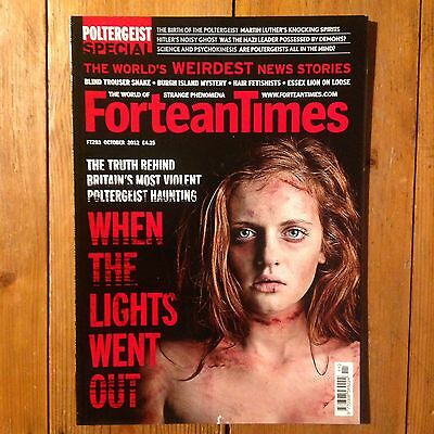 Fortean Times Magazine - October 2012 (Paranormal, Unexplained, UFO's, Ghosts)
