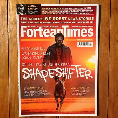 Fortean Times Magazine - June 2012 (Paranormal, Unexplained, UFO's, Ghosts)