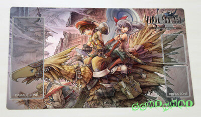 F1152 Free Mat Bag Denzel Marlene Final Fantasy Trading Card Game Custom Playmat
