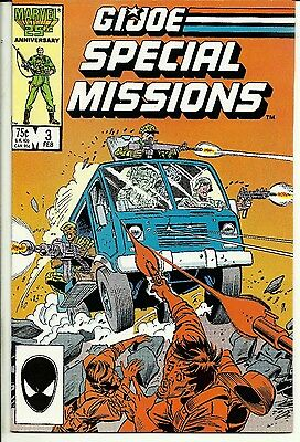 G.I. Joe Marvel Special Missions #3 February 1987 Never Read Gradable