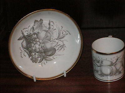 A Spode Coffee Can & Saucer