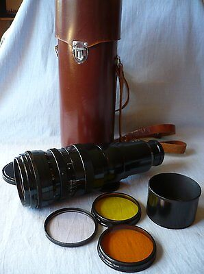 TAIR-3 300mm 4.5 Telephoto Prime Lens, Filters, Case, 39mm Screw Mount (001160)