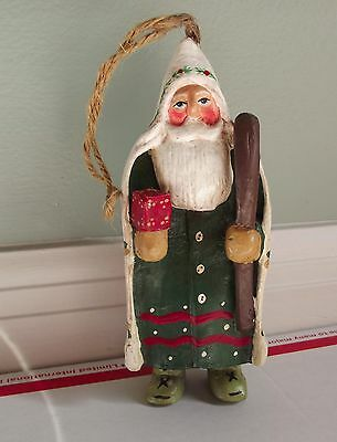 Folk Art Santa Randy Tate Midwest Cannon Falls Old Fashioned Belsnickle