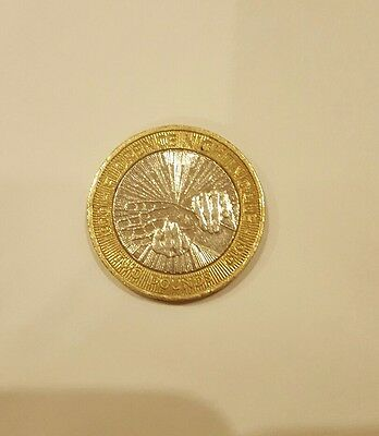 2 pound coin - florence nightingale - circulated