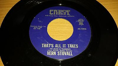 Vern Stovall - That's All It Takes (To Make A Teardrop) / My Best Wasn't Good