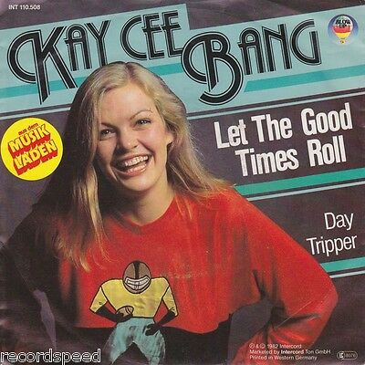 """★★ 7"""" - KAY CEE BANG - Let The Good Times Roll - Red Vinyl"""